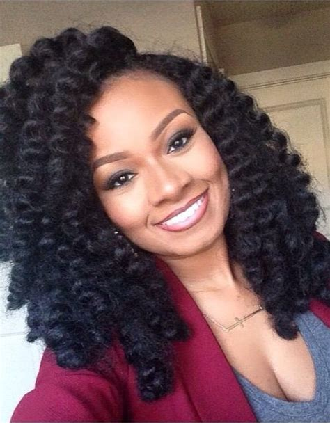 loose braid hairstyle for black women crochet braids hairstyle ideas for black women 2016 2017