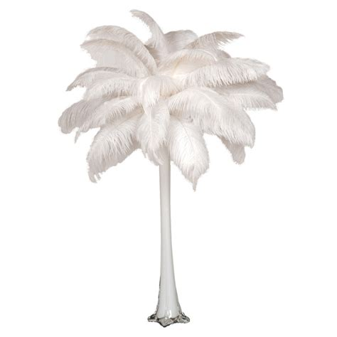 Ostrich Feather Vase by Ostrich Feather Centerpiece With 24 Quot Eiffel Tower Vase