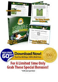 the simple golf swing ebook the simple golf swing ebook review scam pdf free download