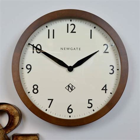 newgate wimbledon wall clock by the orchard notonthehighstreet