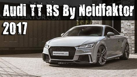 Audi Rs Tuning by 2017 Audi Tt Rs Interior Tuning By Neidfaktor Youtube