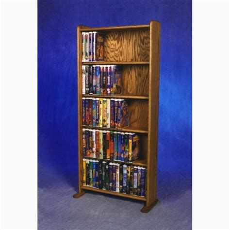 dvd racks model 507 vhs dvd storage rack