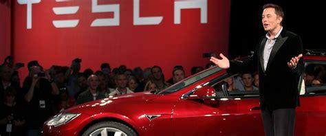Tesla Motor Ceo Tesla Ceo Elon Musk Reveals New Capabilities Of Model S