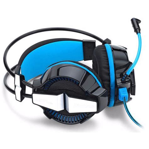 Kotion Each G7000 Pro Gaming Headset 7 1 Anti Noise With Led Light kotion each g7000 pro gaming headset 7 1 anti noise with vibration mode led light blue
