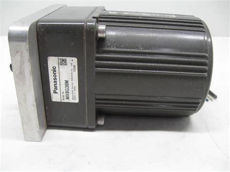 panasonic induction motor single phase panasonic m8rx25g4gga reversible induction motor 25w 4 pole 220 230v ac