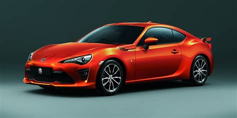 toyota coupe 2017 toyota 86 updated and uprated sports car confirmed