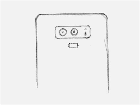Note 9 Drawing by Drawing Of Alleged Samsung Galaxy Note 9 Shows The Design