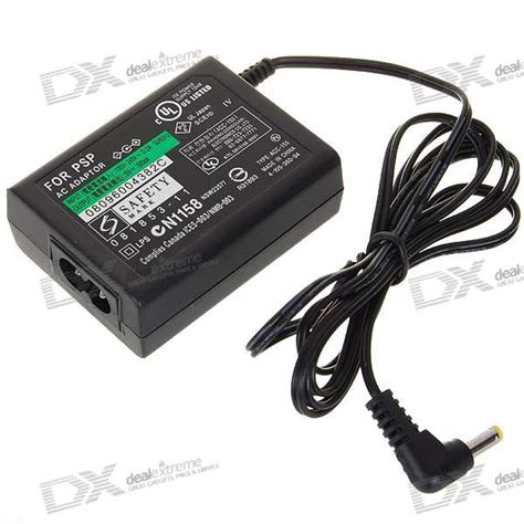 Adaptor Psp european 1500ma ac power adapter for psp 1000 2000 3000