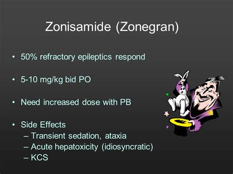 zonisamide side effects in dogs so many seizures so many drugs what to choose and when ppt