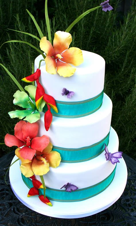 luau wedding cakes pictures tropical wedding cakes pictures idea in 2017 wedding