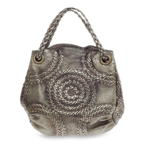 Bottega Venetta Cevro Oranye buy bottega veneta cervo illusion hobo leather gold