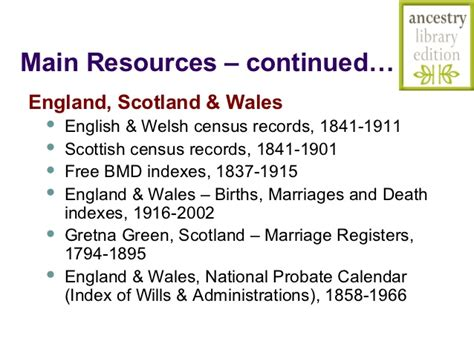 Gretna Green Marriage Records Free Digging For Your Roots 2012 Ancestry Library Edition Database