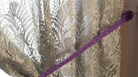sew curtain tie backs 20 free patterns for crochet curtain tie backs