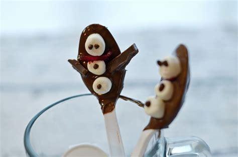 Snowman hot chocolate spoons recipe shop cbias kraftessentials