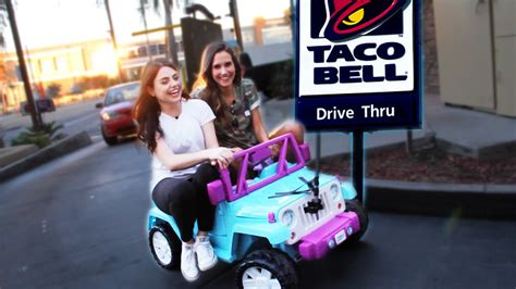 Alarm Motor Taco Bell driving thru taco bell in a car w shannon episode 2