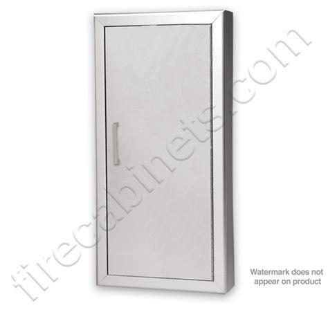 larsen extinguisher cabinets 2409 r3 larsen s aluminum semi recessed 2 1 2 extinguisher
