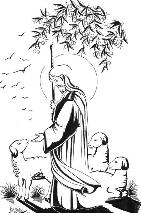 imagenes de jesucristo a color dibujos de jesus el buen pastor hairstylegalleries com