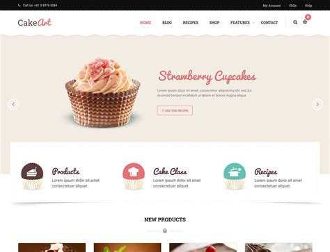10 best wordpress themes for bakeries amp coffee shops 2016