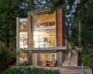 Armoire Rangement Exterieur 2910 dorsey residence contemporain fa 231 ade seattle par