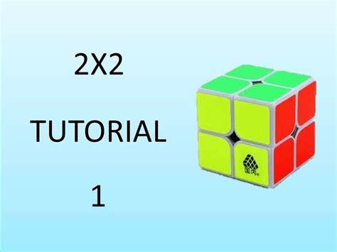 video tutorial rubik 2x2 como armar cubo de rubik 2x2 parte 1 viyoutube