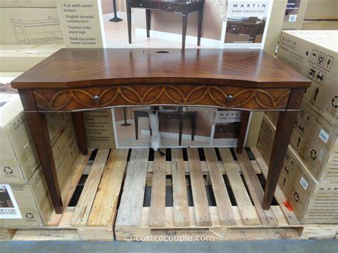 martin furniture hartford writing desk synergy malibu sleeper ottoman
