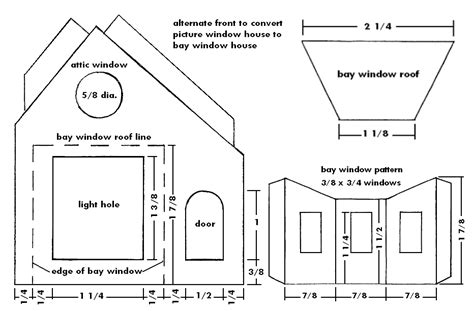 bay window plans building a bay window house