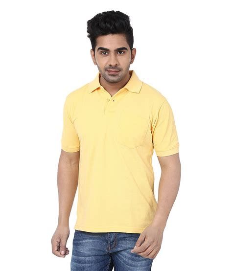 Tshirt Crocks crocks club yellow cotton polo t shirt buy crocks club