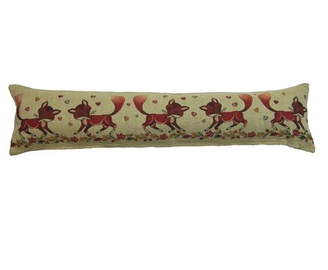 Door Draft Excluder Cushion by Animal Design Tapestry Draught Excluder Fabric Door Window