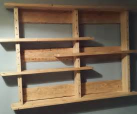 shelves out of pallets goenoeng