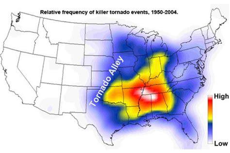 hay imagenes artisticas que producen desagrado el corredor de los tornados en estados unidos