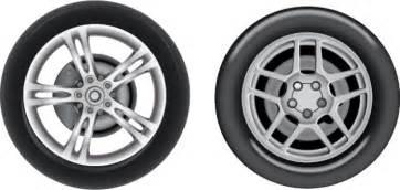 Car Tires Clipart Car Tires Mercedes Realistic Vector Set Vector Free