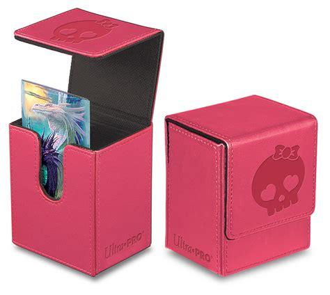 ultra flip ultra pro flip deck box pink accessories 187 deck boxes