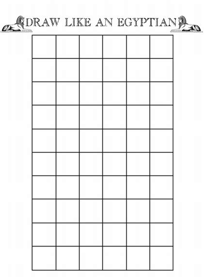 grid like draw like an egyptian grid teaching art history
