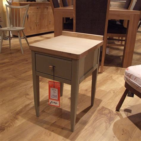 ercol pinto l table clearance