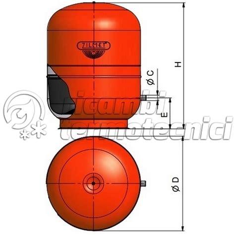 zilmet vaso espansione vaso espansione zilmet riscaldamento lt150 c e ricambi