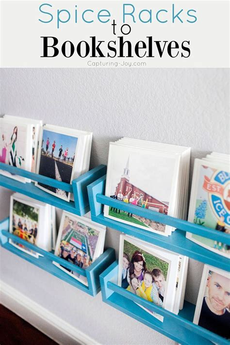 best diy crafts ideas ikeas spice rack hack into bookshelves for 100 chat books diy