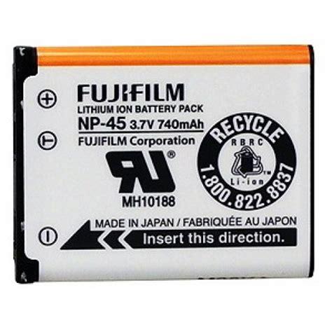Batre Kamera Fujifilm Np 45a fujifilm np 45a lithium ion rechargeable battery batteries accessories cameras
