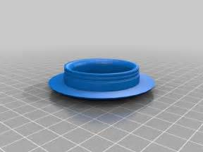 Patio Table Grommet Patio Table Glass Center Grommet By Jobzombi Thingiverse