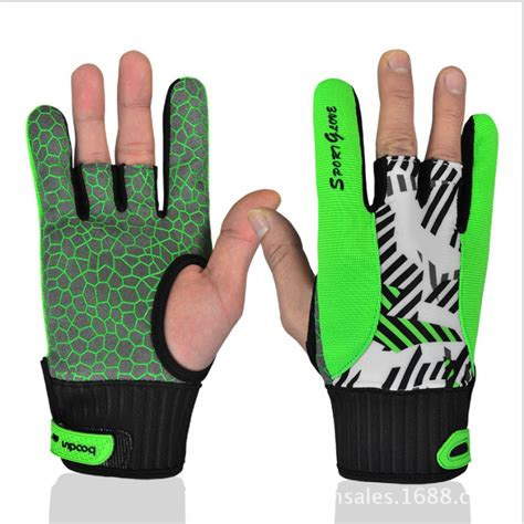 Murah Gloves buy boodun professional anti skid bowling gloves comfortable bowling accessories semi finger