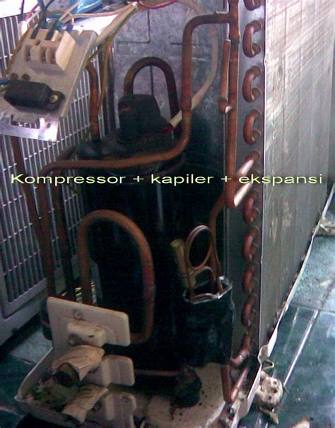 Kulkas Frezzer Kecil teori mesin pendingin kapiler starelektronic
