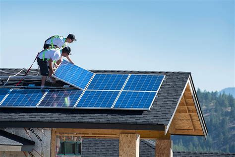 solar panels install generating solar power in your home does it make dollars