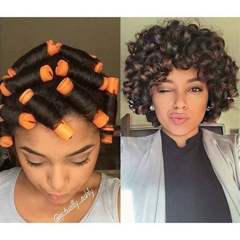 perm rods natural hair which size will create your 1000 images about natural hairstyles on pinterest black