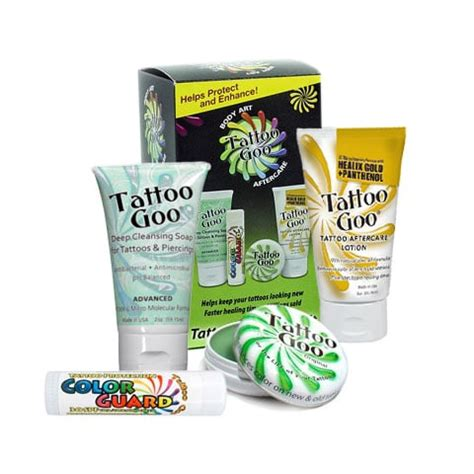 tattoo goo before and after tattoo goo professional aftercare kit