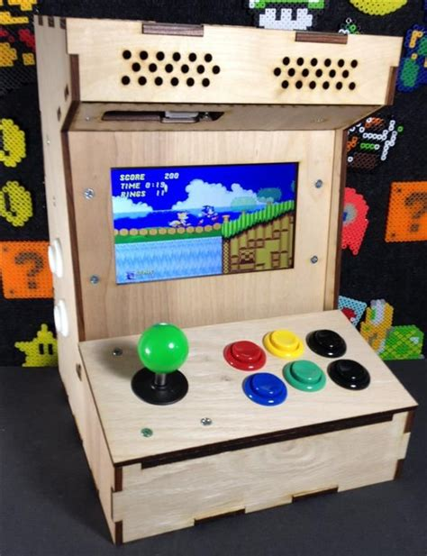 make your own arcade cabinet project mame build your own