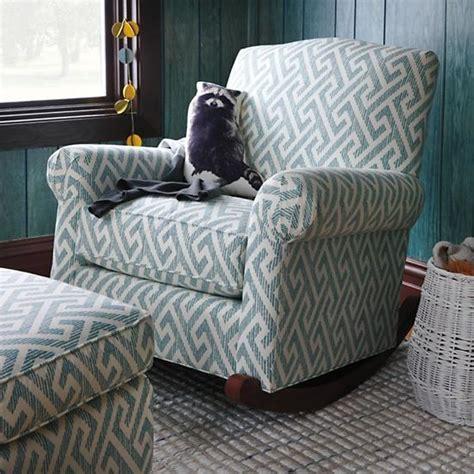 Upholstered Rocking Chair Nursery Teal Upholstered Nursery Rocking Chair