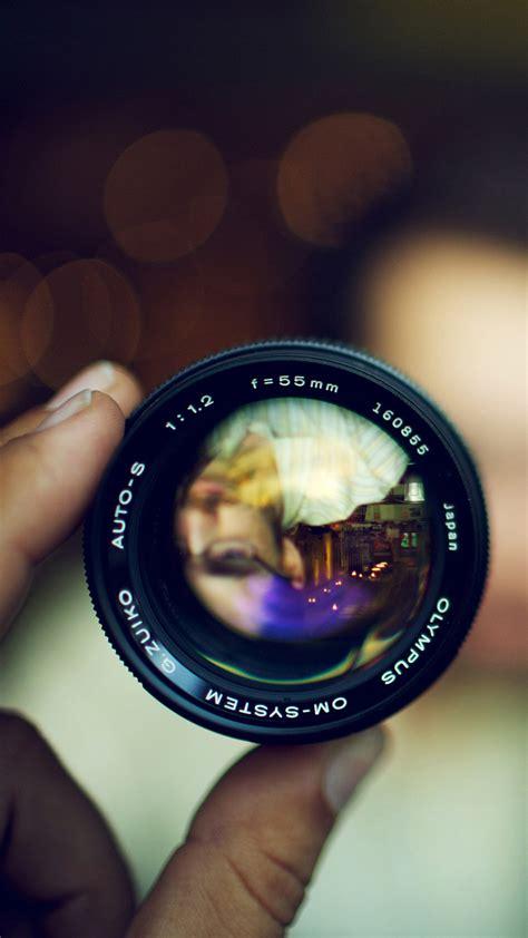 camera wallpaper portrait self portrait in a lense 1080x1920 best htc one wallpapers