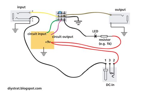 guitar pedal stomp box wiring explained