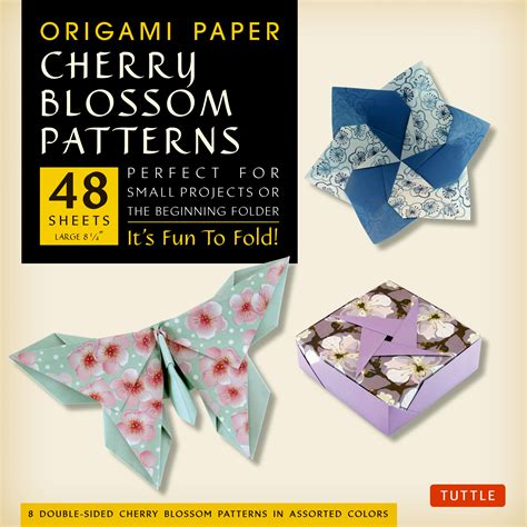 Origami Books With Paper - origami paper cherry blossom patterns large editors
