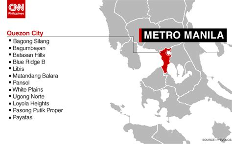 earthquake quezon city mmda launches updated quake contingency plan cnn philippines