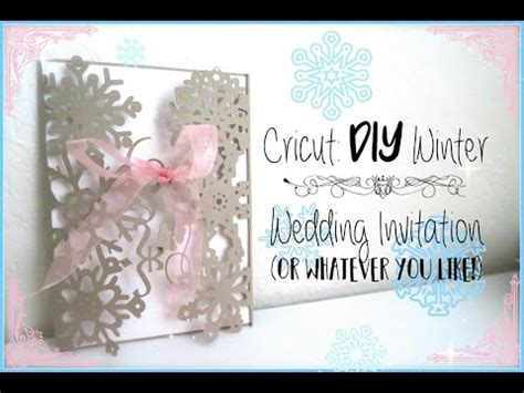 how to make a card using cricut templates diy how to make a wedding invitation using the cricut
